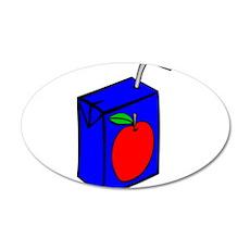 Apple Juice Box Wall Decal