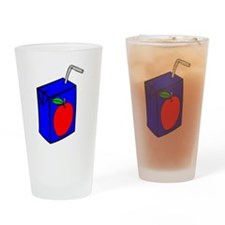 Apple Juice Box Drinking Glass