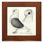 Polish Owl Framed Tile