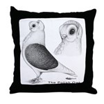 Polish Owl Throw Pillow