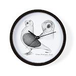 Polish Owl Wall Clock
