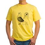 Polish Owl Yellow T-Shirt