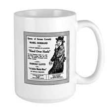 Mabel Normand Head Over Heels Mug