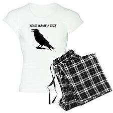 Custom Black Crow Silhouette pajamas