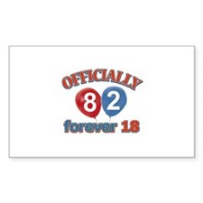 Officially 82 forever 18 Decal