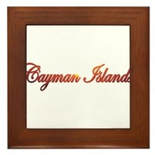Cute Grand cayman Framed Tile