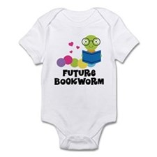 Future Bookworm Onesie