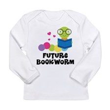 Future Bookworm Long Sleeve Infant T-Shirt