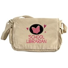 School Librarian Messenger Bag