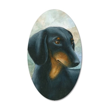 Dog 90 35x21 Oval Wall Decal