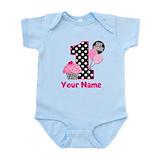 1st birthday girl t-shirt Baby