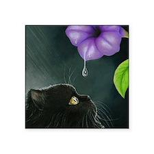 "Cat 514 Square Sticker 3"" x 3"""
