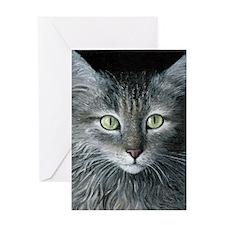 Cat 478 Greeting Card