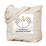 Unique Montessori Tote Bag