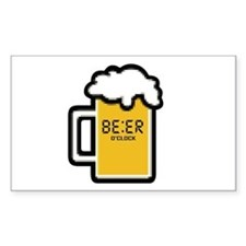 Beer O Clock Decal