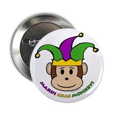 Mardi Gras Button