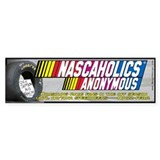 Nascaholics Anonymous -Bumper Bumper Sticker