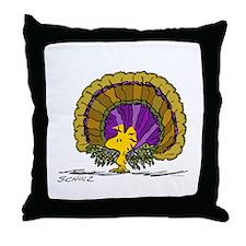 Woodstock Turkey Throw Pillow