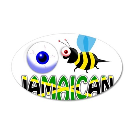 I BE JAMAICAN Wall Decal