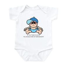 Humorous See My Granddaddy Infant Bodysuit