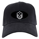 Black First Sergeant E7 Cap 2