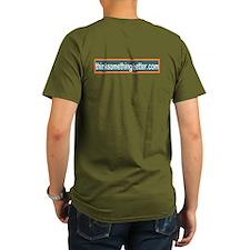 Think Something Better organic book shirt