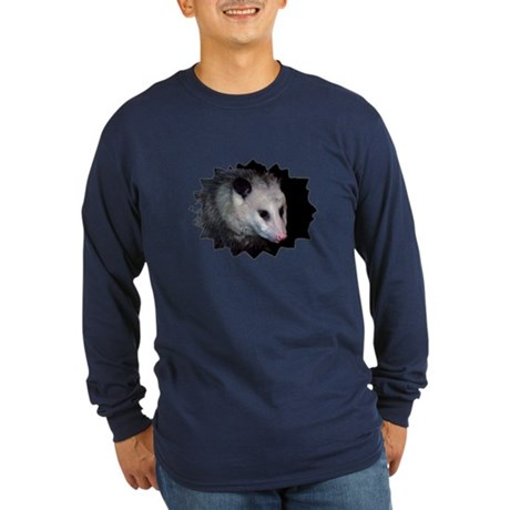 Awesome Possum Long Sleeve Dark T-Shirt