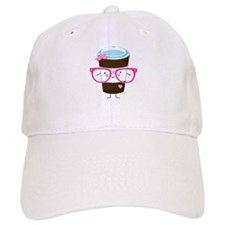 Nerdy Kawaii Coffee Baseball Cap