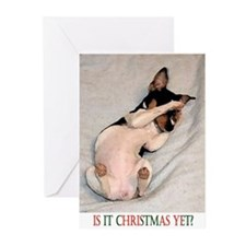 RAT TERRIER Greeting Cards