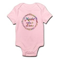 Music Makes it Better Onesie