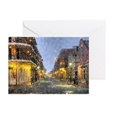 New Orleans French Quarter Greeting Cards (Pk of 1