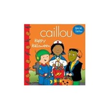 Caillou Happy Halloween Book