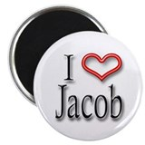 I Heart Jacob Magnet