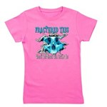401ISitFRACTUREDskullblue copy.png Girl's Tee