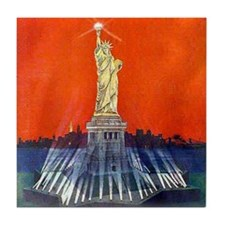 Electric Liberty Tile Coaster