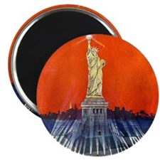 Electric Liberty Magnet