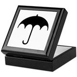 Umbrella Symbol Keepsake Box