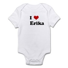 I Love      Erika Infant Bodysuit