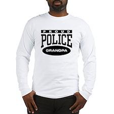 Proud Police Grandpa Long Sleeve T-Shirt