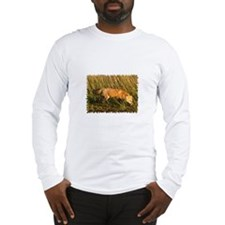 Red Fox Photo Long Sleeve T-Shirt