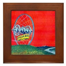 Gyro Land Flyer Framed Tile