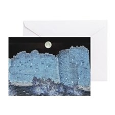 Hovenweep Castle Ruin Moonlight Greeting Cards (6)