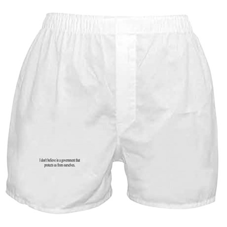 Government Protection? Boxer Shorts