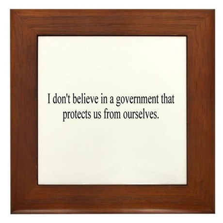 Government Protection? Framed Tile