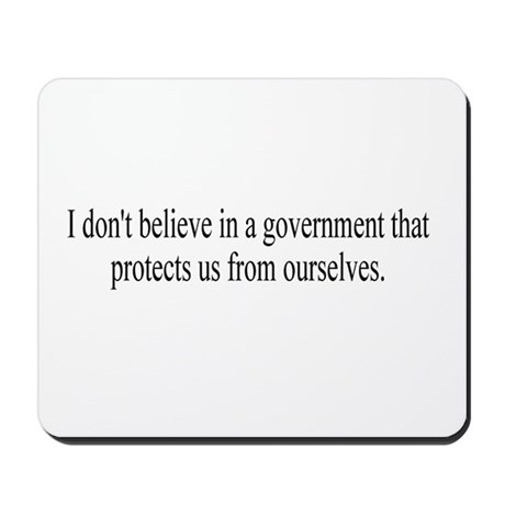 Government Protection? Mousepad