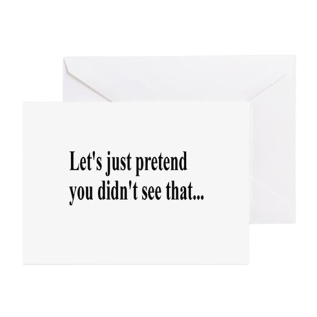 Let's Pretend Greeting Cards (Pk of 10)