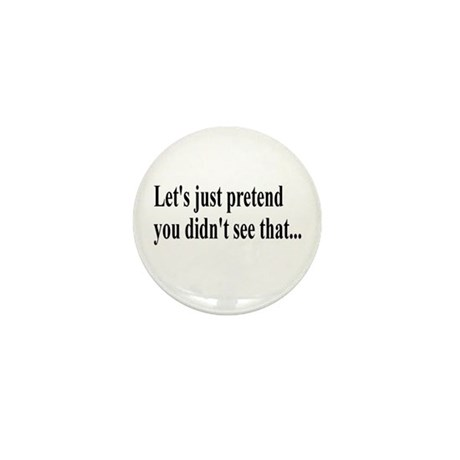Let's Pretend Mini Button (100 pack)
