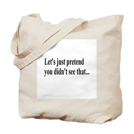 Let's Pretend Tote Bag