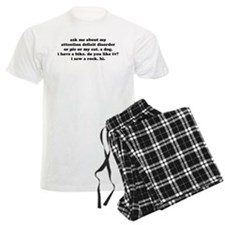 ADD FUNNY HUMOR QUOTE Pajamas