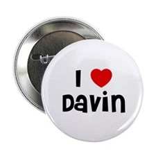 "I * Davin 2.25"" Button (10 pack)"